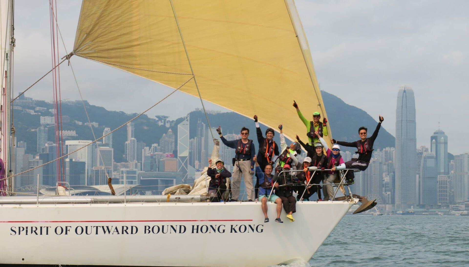 Hong kong Sailing