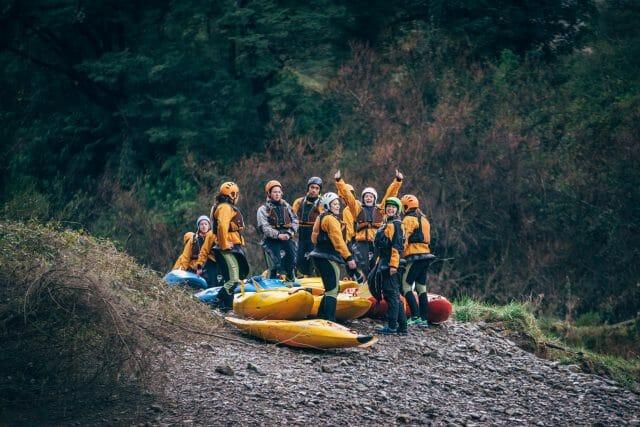 NZ-rafting