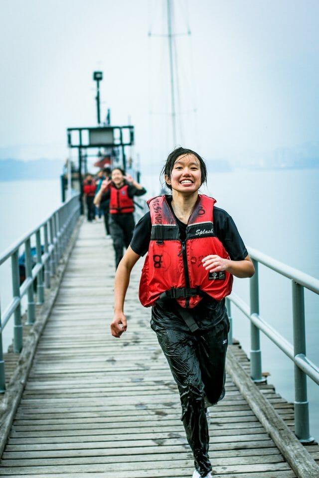 Hong kong running life vest