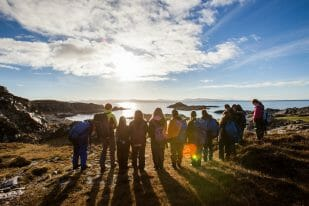 Outward Bound Trust group circle
